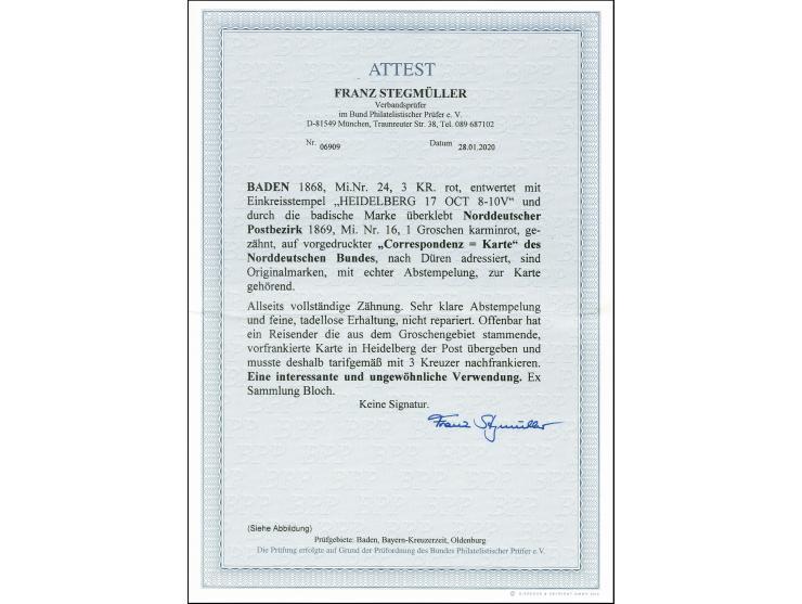 375. Heinrich Köhler Auktion - 4226
