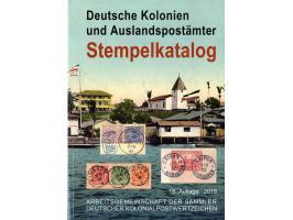 Deutsche Kolonien und Auslandspostämter - Stempelkatalog
